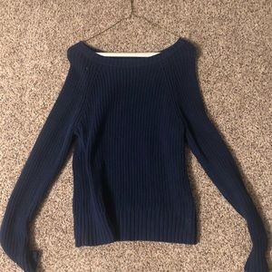 Navy blue sweater from American Eagle